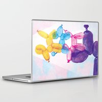 baloon Laptop & iPad Skins featuring Baloon Pups by Fricking
