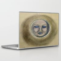 sleep Laptop & iPad Skins featuring Sleep by Jen Hallbrown