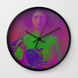 """La Trini"" Version 02 (Covered 2018) Wall Clock"