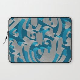 3D Abstract Ornamental Background II Laptop Sleeve