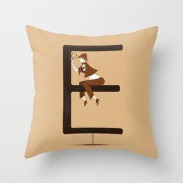 Ella & Replica Throw Pillow