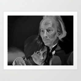 First Doctor and Susan Art Print