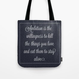 Jack Donaghy's throw pillow from 30 rock Tote Bag