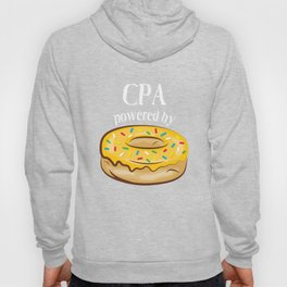 CPA T-Shirt CPA Powered By Donuts Gift Apparel Hoody