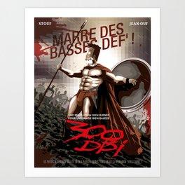 300 DPI Art Print