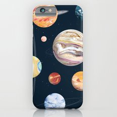 Marbly Warbly Planets iPhone 6s Slim Case