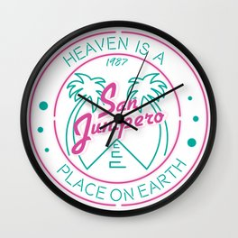 SAN JUNIPERO Wall Clock