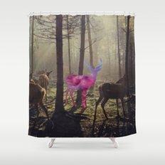 The spirit II Shower Curtain