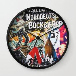 Norddeutsches Wall Clock