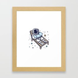Best Place to Tan Framed Art Print
