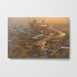 Asheville, NC Metal Print