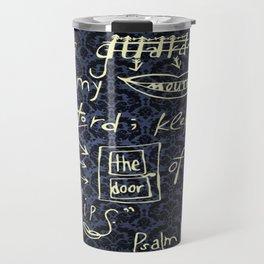 Psalm 141:3 Travel Mug