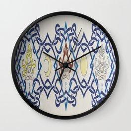 Three Women Celtic Band Wall Clock
