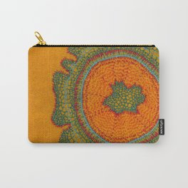 Growing -Taxus - plant cell embroidery Carry-All Pouch