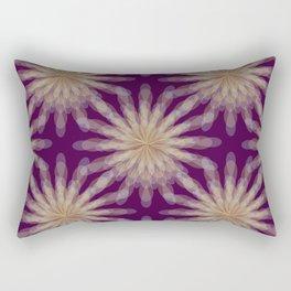 floral transparencies pattern Rectangular Pillow