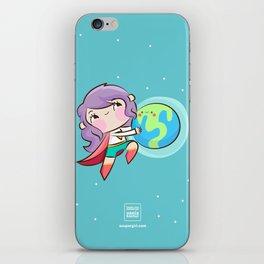 Rock My World iPhone Skin