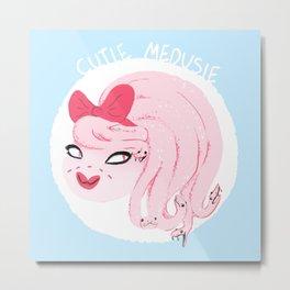 Cutie Medusie Metal Print