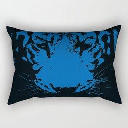 Blue Fang Rectangular Pillow