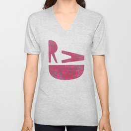 Rad - Red Unisex V-Neck