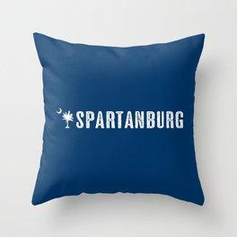 Spartanburg, South Carolina Throw Pillow