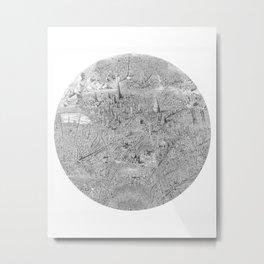 A Single Note Metal Print