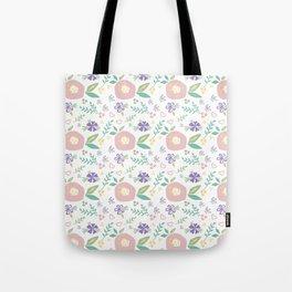 Pink Poppies Tote Bag