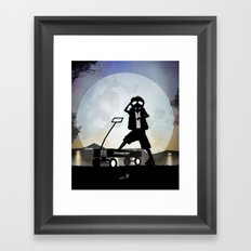 McFly Kid Framed Art Print