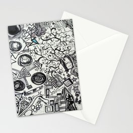 Black/White #2 Stationery Cards