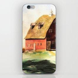 Red Barn iPhone Skin