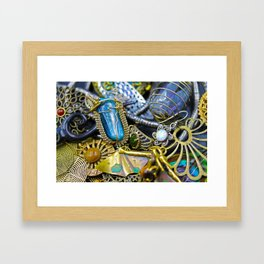 Jewelry Cluster 1 Framed Art Print