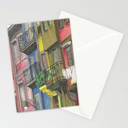Penciled Cityscapes Stationery Cards