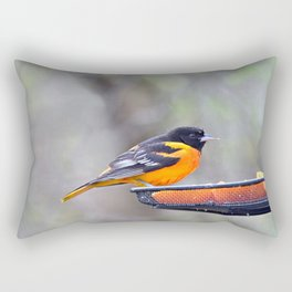 Oranges for the Oriole Rectangular Pillow