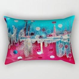 I feel the mood... Rectangular Pillow