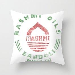 Rashmi Oils Vintage Throw Pillow