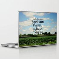 percy jackson Laptop & iPad Skins featuring Jackson by KimberosePhotography