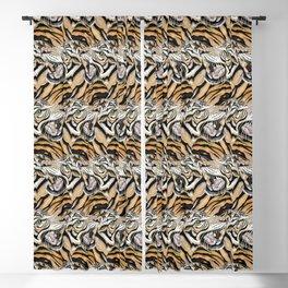 Tiger Pattern Blackout Curtain