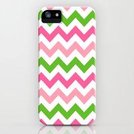 Sweet Summer Melon Chevron  iPhone Case