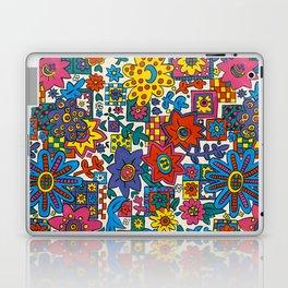 Floral Scatter by Nettwork2Design - Nettie Heron-Middleton Laptop & iPad Skin