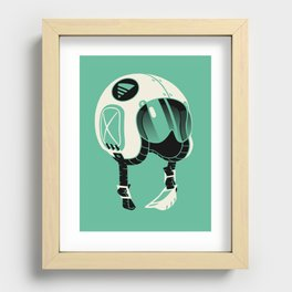 Super Motherload - Keep Helmet On Recessed Framed Print