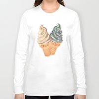 treat yo self Long Sleeve T-shirts featuring Treat Yo' Self by Kanika Mathur Design