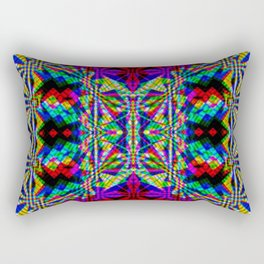 Chromatic Blissed Out Rectangular Pillow
