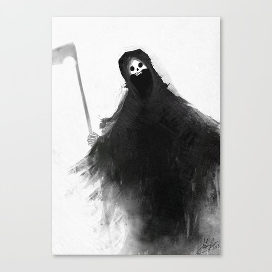 Little Death Canvas Print