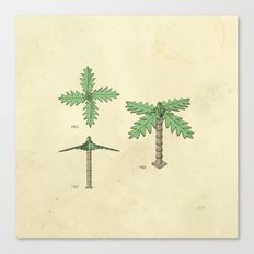 Lego Tree Canvas Print