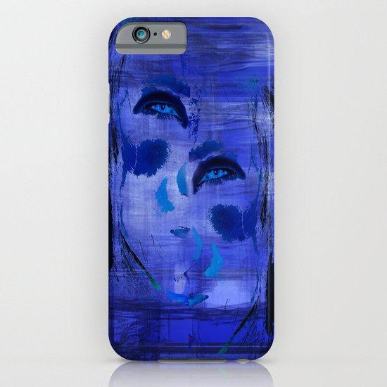 Blue Woman 2 iPhone & iPod Case