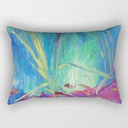 garden of modern art centre. gulbenkian Rectangular Pillow