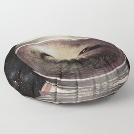 Space Sloth Floor Pillow