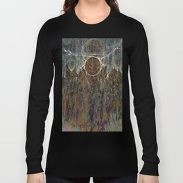 Nebulous Portal Emergence (Electric Gateway) Long Sleeve T-shirt