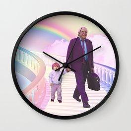 PawPaw Bernie Wall Clock