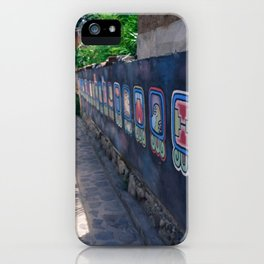 Guatemala - Nahual Street Art iPhone Case