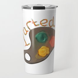Art Student design I Arted Funny Pun Graduation Present Travel Mug